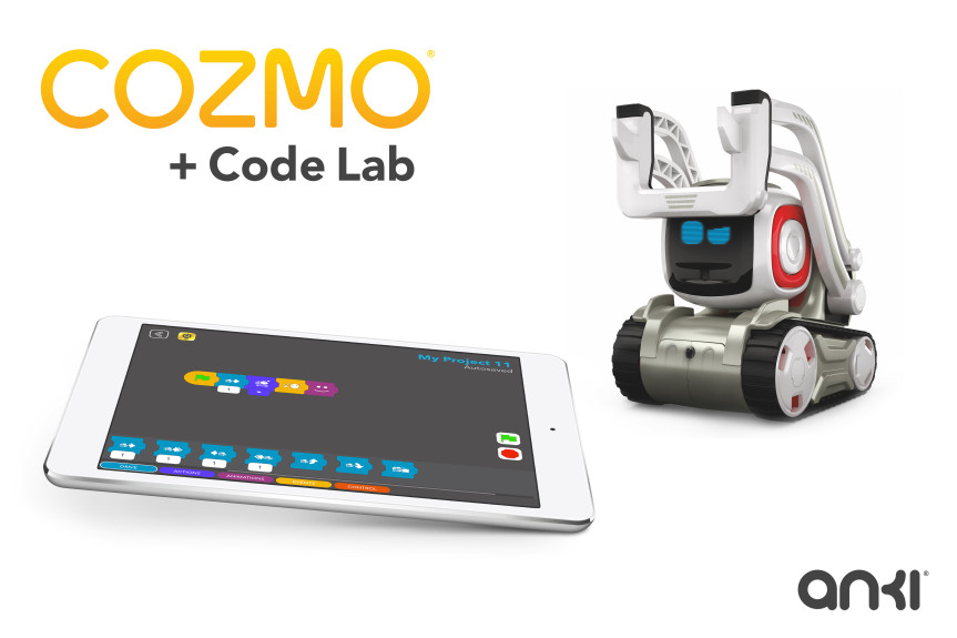 Cozmo update makes it easy to write code for robots