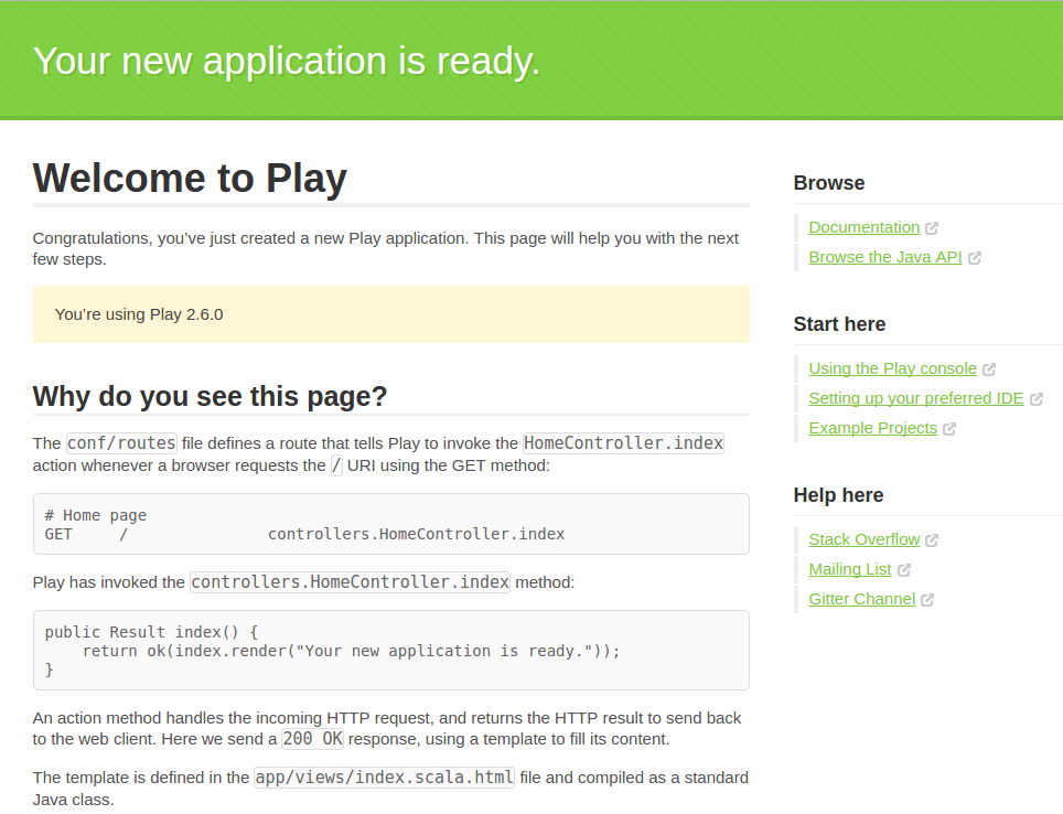 Running Java and Scala Apps With Play: VPS and Docker