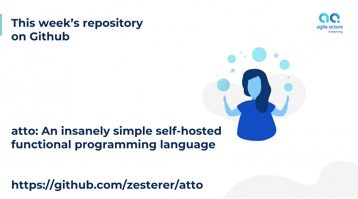This week's repository on Github: atto