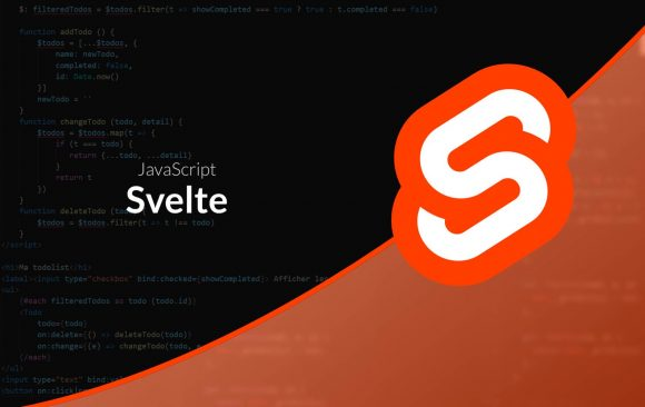 Svelte! another javascript framework/compiler