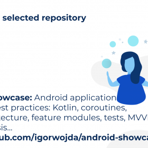 android showcase: Android application following best practices