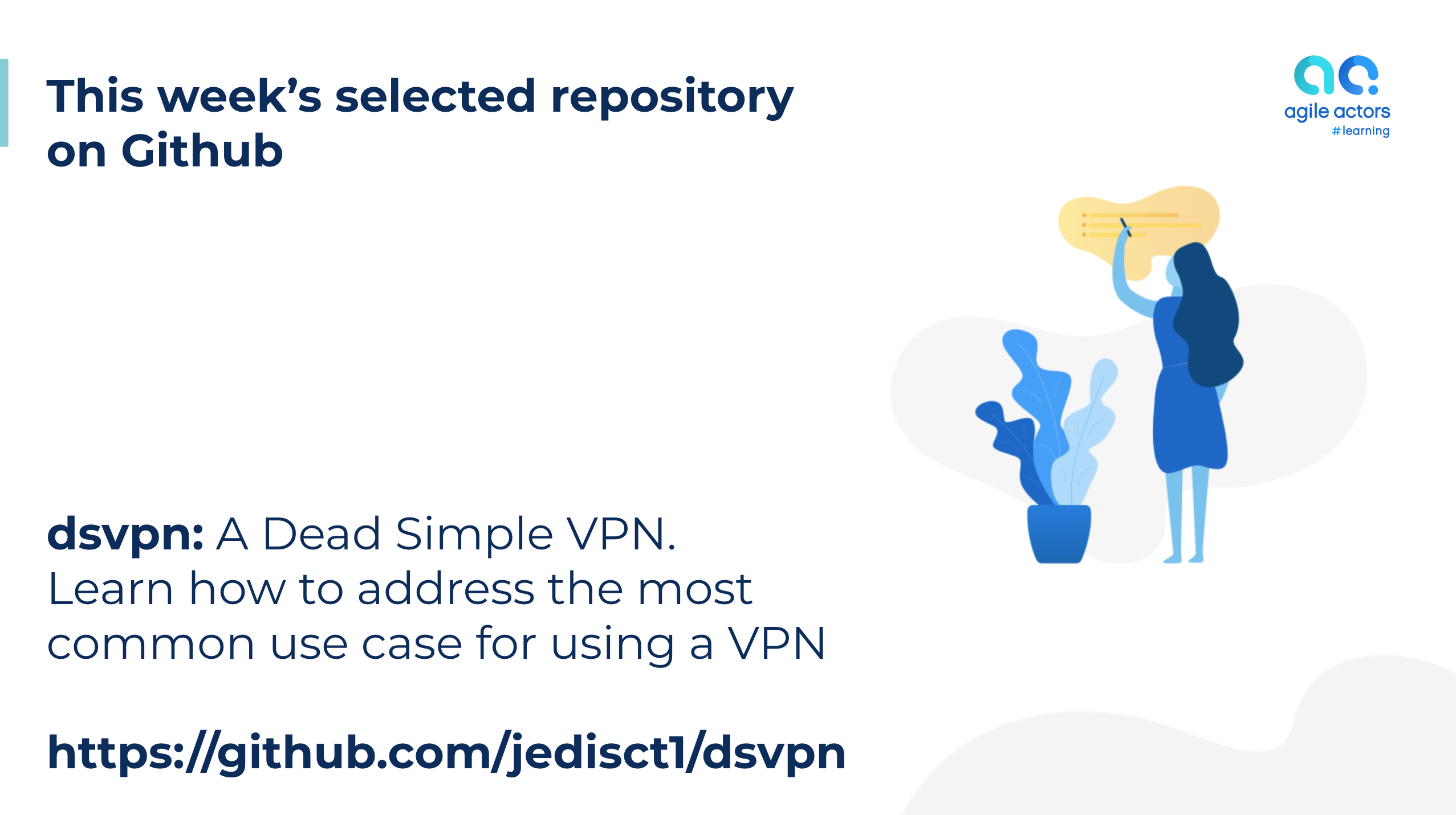 DSVPN is a Dead Simple VPN, designed to address the most