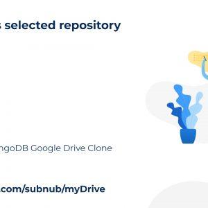 myDrive: Node.js and mongoDB Google Drive Clone