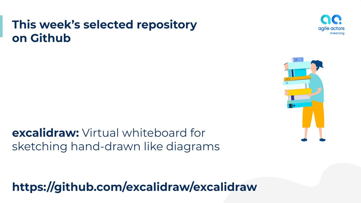 excalidraw: Virtual whiteboard for sketching hand-drawn like diagrams
