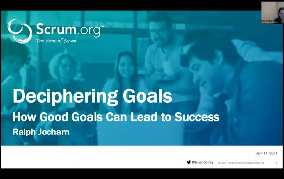 Webinar Recording: Deciphering Goals – How Good Goals Can Lead to Success